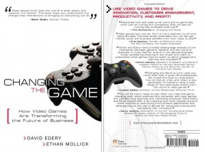 Front and back cover of Changing the Game